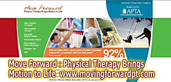 Move Forward what can a physical therapist do for you